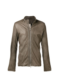 Giorgio Brato Slim Fit Biker Jacket