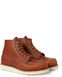 875 moc leather boots medium 286655
