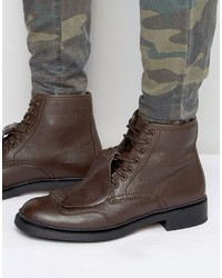 G Star G Star Guard Lace Up Leather Boots