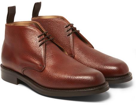 Cheaney Jackie Pebblegrain Leather Chukka Boots 428 Mr Porter