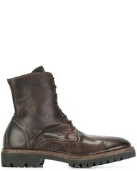 Guidi Lace Up Combat Boots