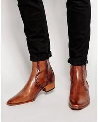 Jeffery West Western Zip Boots