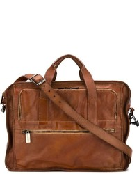 Numero 10 Antique Effect Briefcase