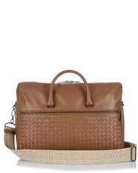 Intrecciato leather briefcase medium 719117