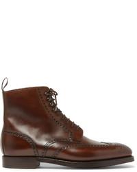 Bryan leather brogue boots medium 656049