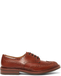 Bourton leather wingtip brogues medium 700821
