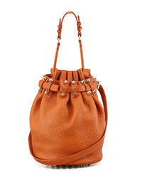 Diego bucket bag orangepale golden medium 90370