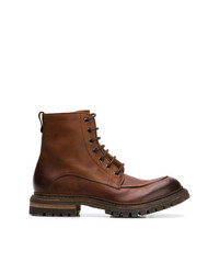 Del Carlo Lace Up Boots
