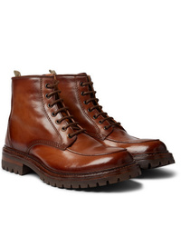 Officine Creative Manchester Burnished Leather Boots