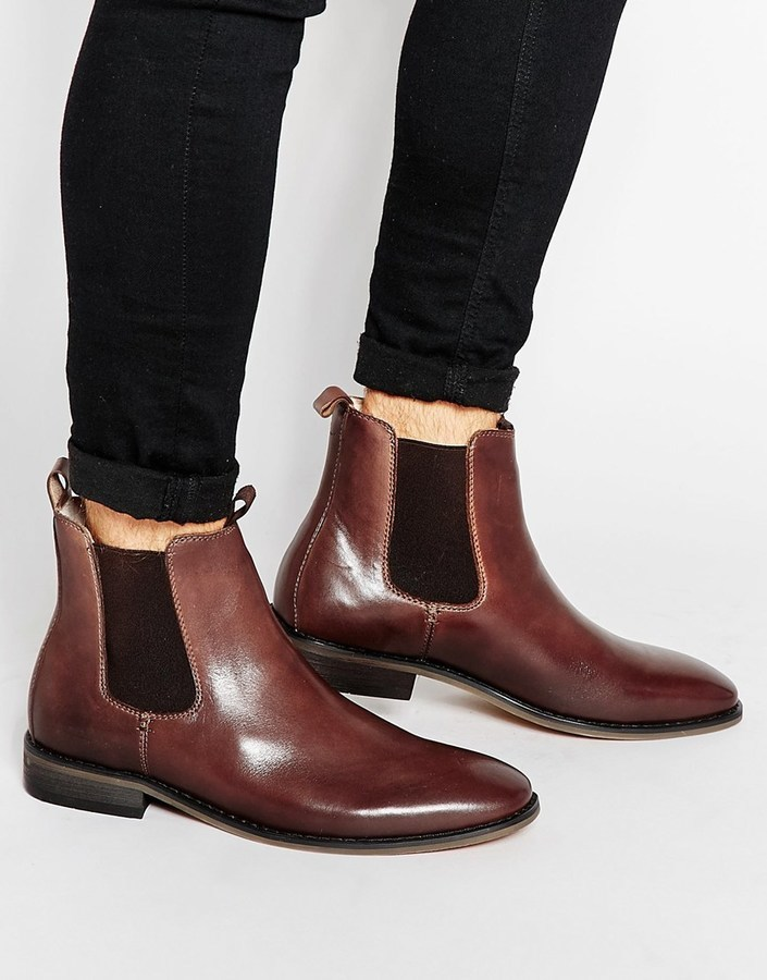 Bellfield Leather Chelsea Boots p9nFU