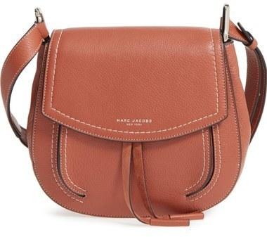 388ebc161de ... Brown Leather Crossbody Bags Marc Jacobs Maverick Shoulder Bag Black ...