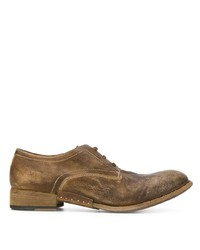Artselab Distressed Effect Derby Shoes