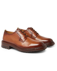 Officine Creative Sheffield Polished Leather Derby Shoes