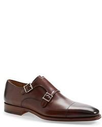 Magnanni Benitez Double Monk Strap Shoe