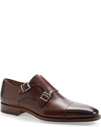 Magnanni Cortillas Double Monk Strap Leather Shoe