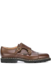 Paraboot Double Buckle Monk Shoes