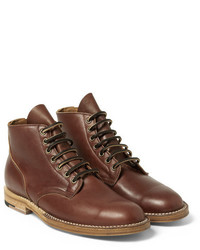 Viberg leather lace up boots medium 342168