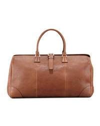 Large leather duffledoctor bag cognac medium 182225