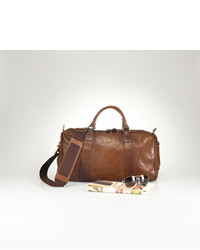 Polo Ralph Lauren Leather Duffel Bag