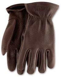 Buckskin leather gloves medium 386916