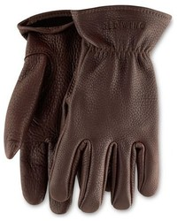Red wing buckskin leather gloves medium 386916