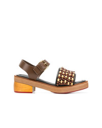 Marni Beaded Sandals