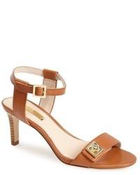 Louise et Cie Hayworth Leather Ankle Strap Sandal