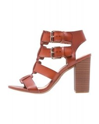 Herooo sandals cognac medium 4278866