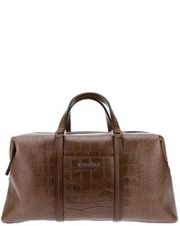 DSquared 2 Crocodile Effect Holdall
