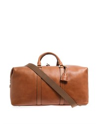 Mulberry Leather Clipper Weekend Bag