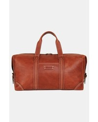 Tommy Bahama Weekender Leather Duffel Bag Cognac One Size
