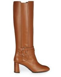 Gomma leather knee high boots medium 781573