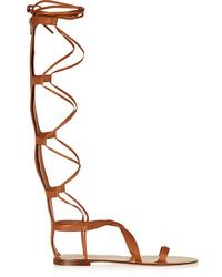 Aphrodite leather sandals medium 212658