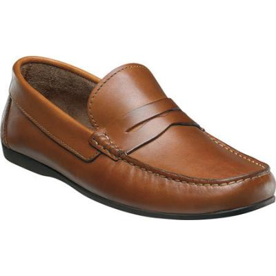 bbd4aea6fee ... Florsheim Jasper Penny Cognac Smooth Leather Penny Loafers