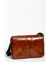 Leather messenger bag medium 142188