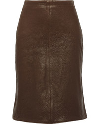 38fa4e19e9 Title A Title A Textured Leather Skirt No Brand Title A Title A Textured Leather  Skirt Out of stock · Dagmar Dia Paneled Leather And Suede Pencil Skirt