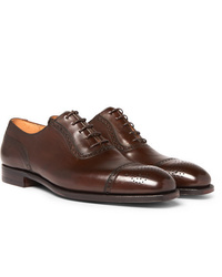 George Cleverley Adam Cap Toe Leather Oxford Brogues