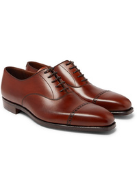 George Cleverley Charles Cap Toe Leather Oxford Shoes