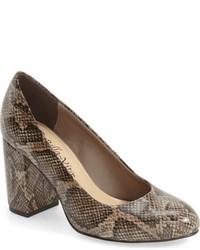 Nara block heel pump medium 741587