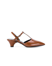Marni T Bar Strap Pumps