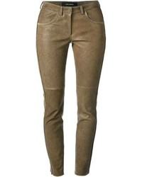 Isabel Marant Skinny Leather Trousers