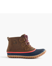 J.Crew Sorel For Out N Abouttm Leather Boots