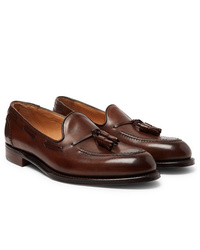 Cheaney Harry Ii Burnished Leather Tasselled Loafers
