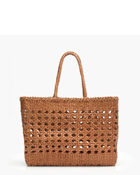 J.Crew Dragon Diffusiontm Large Cannage Tote Bag