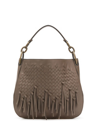 Bottega Veneta Loop Hobo Bag In Intrecciato Brio