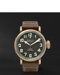 Pilot type 20 extra special 45mm bronze and nubuck watch medium 358480