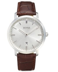 Tradition leather strap watch 40mm medium 1249249