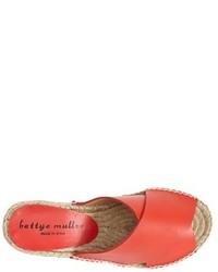 6ad9cd5455b ... Bettye Muller Dijon Leather Wedge Espadrille Slide Sandal ...