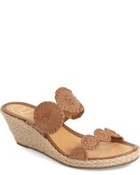 Shelby whipstitched wedge sandal medium 624226
