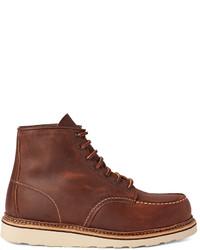1907 classic moc leather boots medium 584525